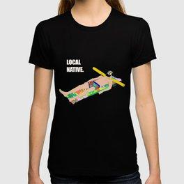 Local Native - Music Inspired Fan Cliche Digital Art T-shirt