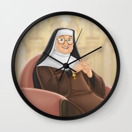 Mother Angelica Wall Clock