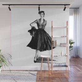 Fashion 1950 Wall Mural