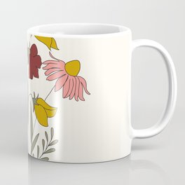 Wildflowers Bouquet Coffee Mug