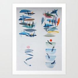 Quattro pensierini Art Print
