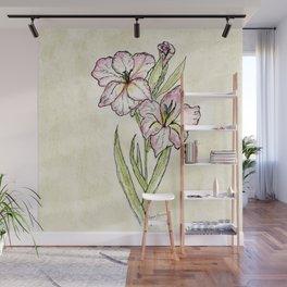 Gladiolus Wall Mural