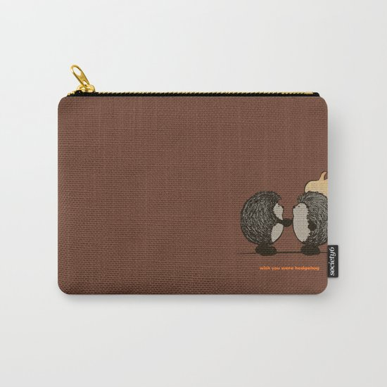 Wish you were hedgehog Carry-All Pouch