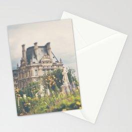 Paris Louvre Photograph Stationery Cards