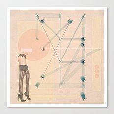 Thigh High Canvas Print