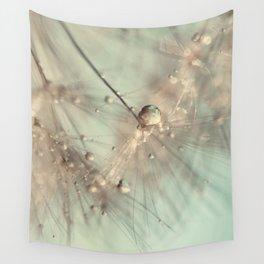 dandelion mint Wall Tapestry