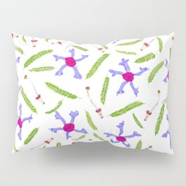 Leaves and flowers pattern (25) Pillow Sham