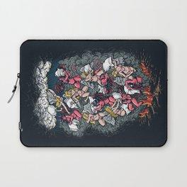 good vs evil  Laptop Sleeve