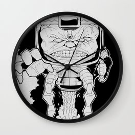 Mental Organism Designed Only for Killing Wall Clock