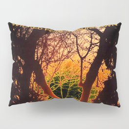 Wicked Forest at Sundown (The Dark Side of Art) - Jeronimo Rubio Photography 2016 Pillow Sham