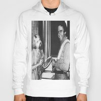chad wys Hoodies featuring Ted Bundy, Chad the Chicken by Chad M. White