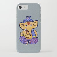 ganesha iPhone & iPod Cases featuring Ganesha by Vanya