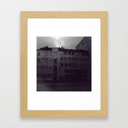 Stockholm blue Framed Art Print