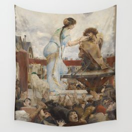 The Hunchback of Notre Dame - Luc-Olivier Merson Wall Tapestry
