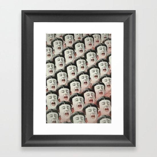 AAAA! II Framed Art Print