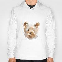terrier Hoodies featuring Terrier  by Glen Gould