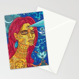Golden Glow of Skin Stationery Cards