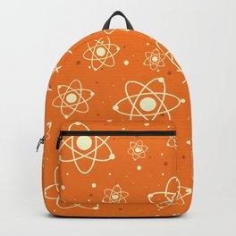 Vintage Orange Atomic Space Blast Backpack