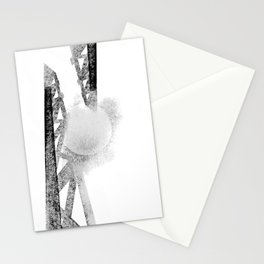 Electric moon Stationery Cards