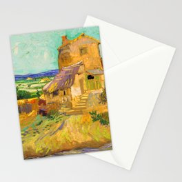 Van Gogh The Old Mill Stationery Cards