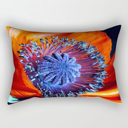 poppy dreams Rectangular Pillow