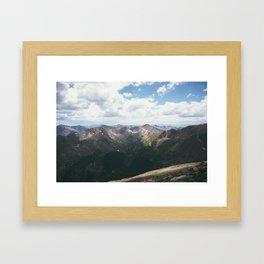 The Sawatch Range Framed Art Print