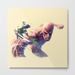 Attack On Titan SHow up Metal Print