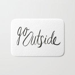 Go Outside Bath Mat