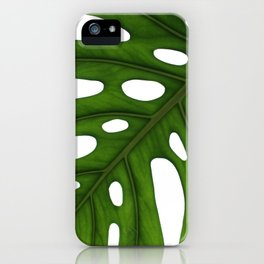 Monstera Leaf iPhone Case