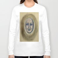 sleep Long Sleeve T-shirts featuring Sleep by Jen Hallbrown