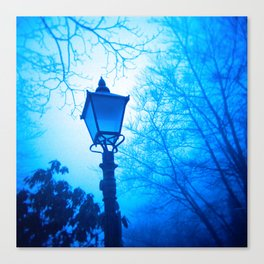 The Blue Lamp Canvas Print