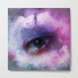 The All Seeing Eye (Watercolor) Metal Print