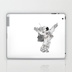 Astronaut Welcoming Visitors Laptop & iPad Skin