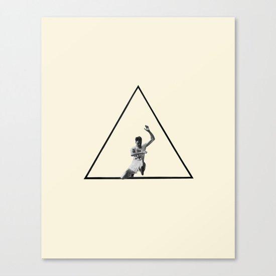 Hurdle (Triangle) Canvas Print