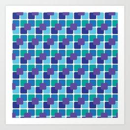 MultiBox Pattern Art Print