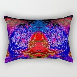 Fire Sorceress Rectangular Pillow