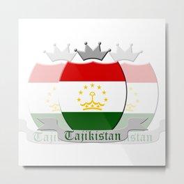 Tajikistan Metal Print