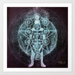 At the Center of It All Art Print