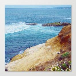 Cliffs and Shoals Canvas Print