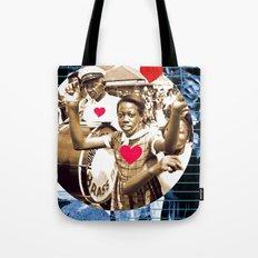 Second Line Love Tote Bag