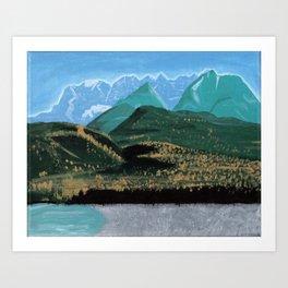 seven sisters Art Print