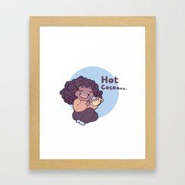 Hot cocoa... Framed Art Print