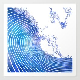 Pacific Waves III Art Print