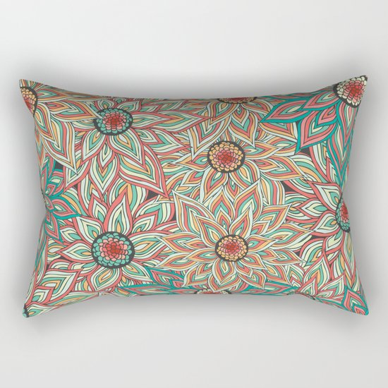 Floral Epoque Rectangular Pillow