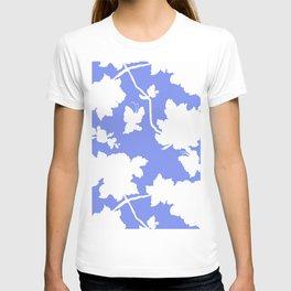Chinoiserie Silhouette Blue T-shirt
