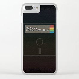 Ready to get Loaded (disc) Clear iPhone Case