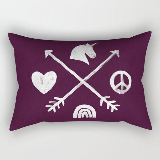 Sugar and Spice Compass Rectangular Pillow