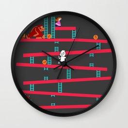 Donkey Kong Revamped Wall Clock