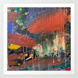 Tears of Rain  Art Print