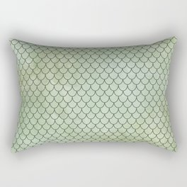 Mermaid Tail Pattern Rectangular Pillow